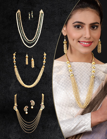 Touchstone 3 Rani Haar and Earring Set