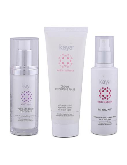Kaya 3-Step Youth Defense Anti-Ageing Kit