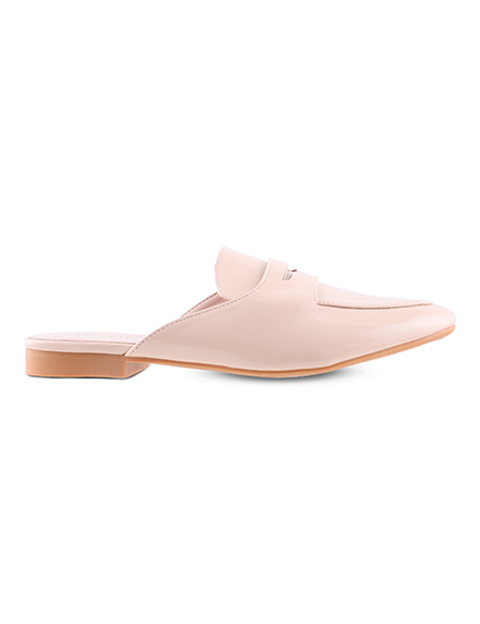 Mode by Red Tape Women Beige Solid Mules