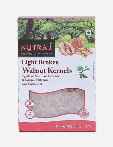Nutraj Peeled & Broken Light Kashmiri Walnuts