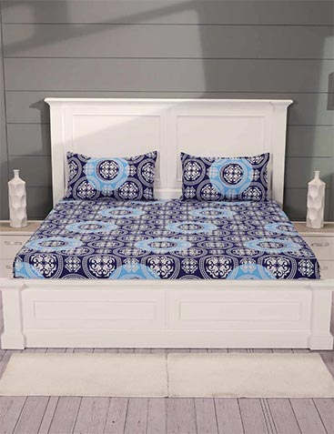 11b21bef1a Bed Sheets - Buy Cotton Bedsheets Online at Best Prices @ Ezmall.com
