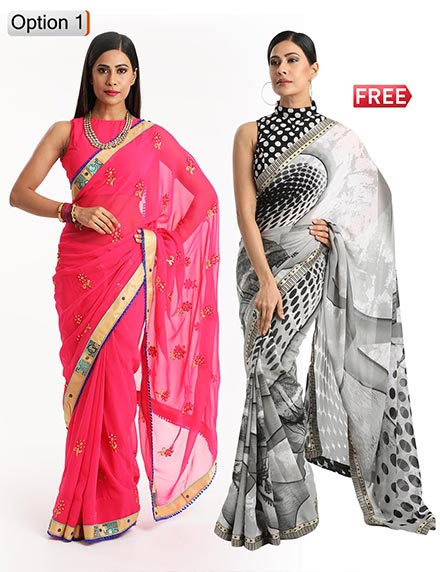 a8a33f9e2f645a Online Saree Shopping - Buy Sarees Online at Best Prices | EZMall