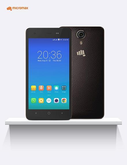 Micromax 4G Smartphone Canvas 5 Lite