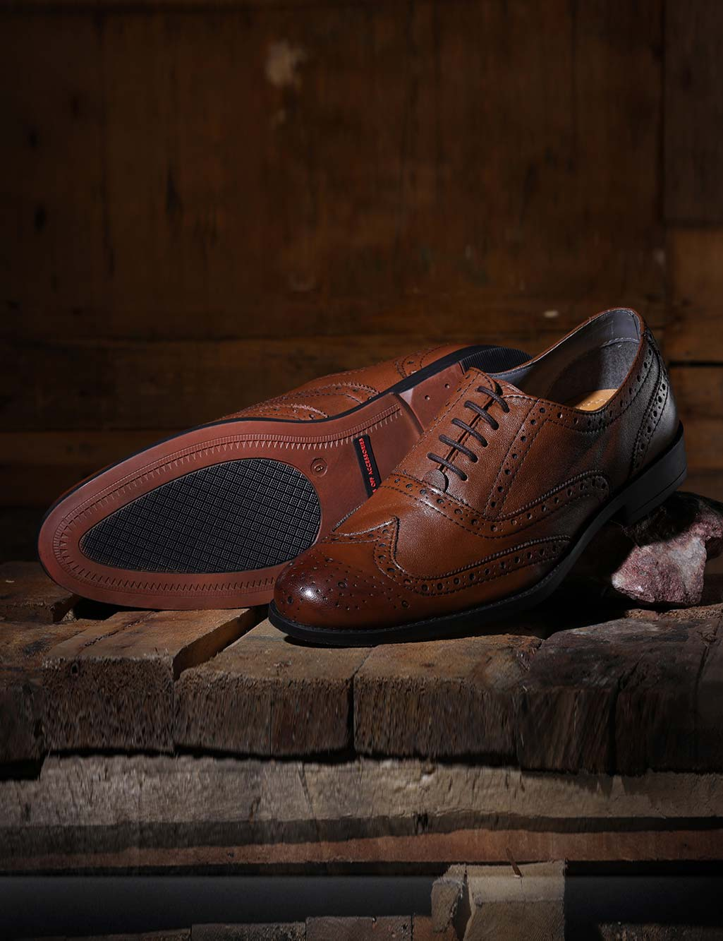 03dfd4a0de951 Genuine Leather Brogue Shoes by Hats Off Accessories - Buy Online at Best  Prices | Ezmall.com