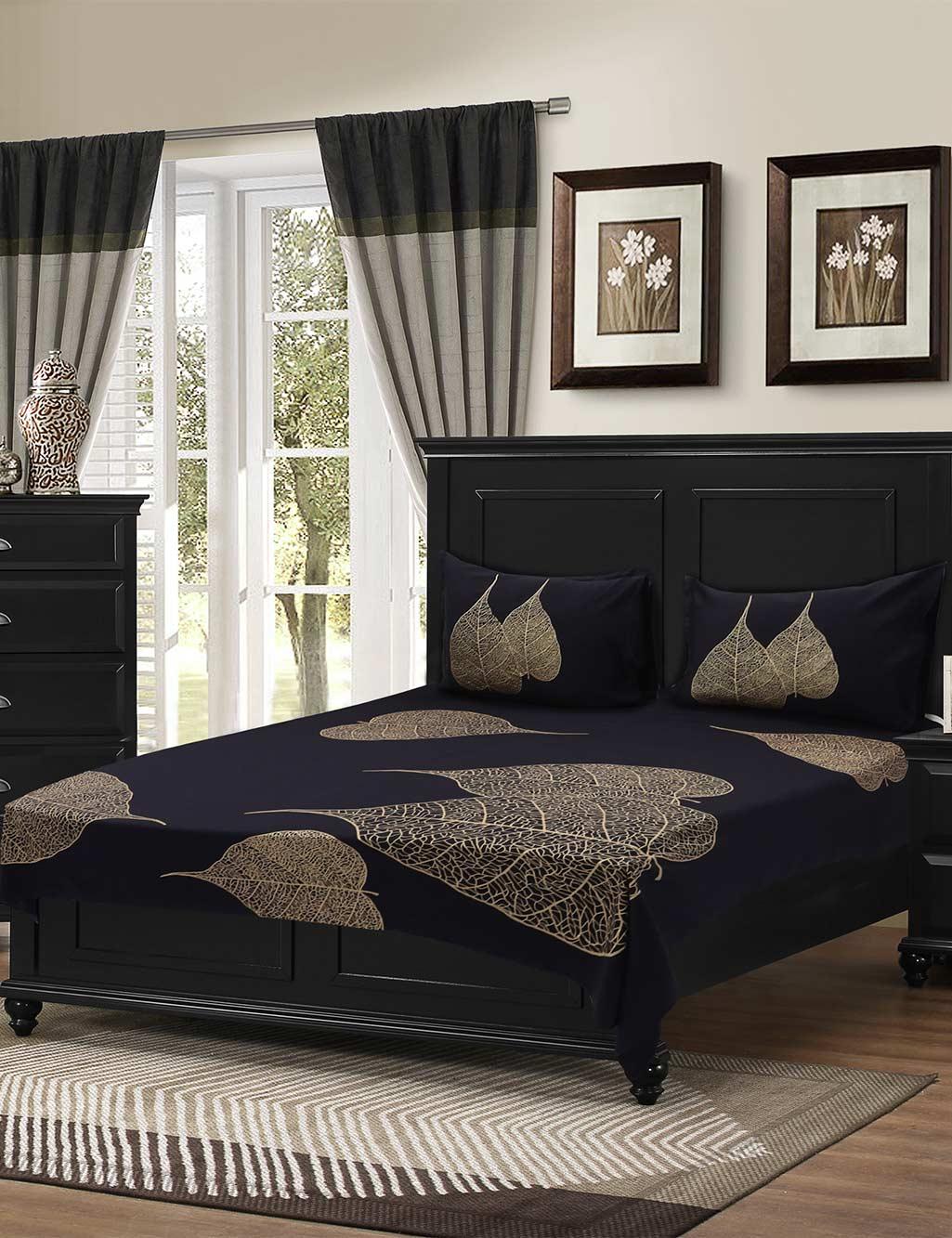 Wonderful Pick Any 1 Premium Cotton Satin Bedsheet + 2 Pillow Covers