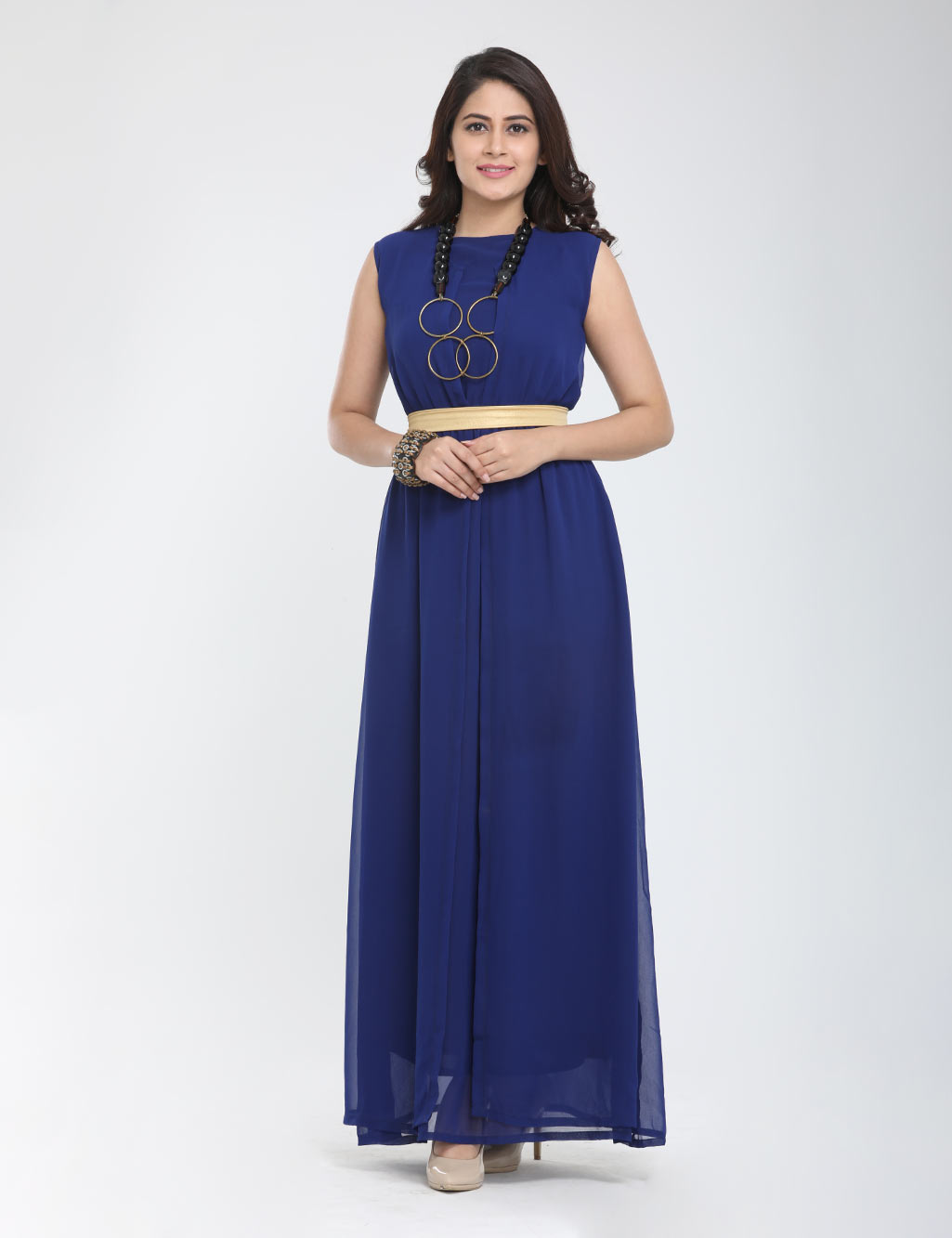 7536b82c64e912 Pick Any 1 Maxi Dress + Belt by Ishin - Buy Online at Best Prices |  Ezmall.com