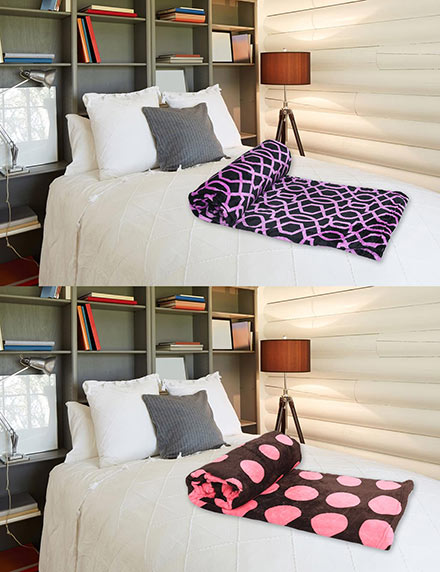 Pack of 2 All Season Double Bed Blanket