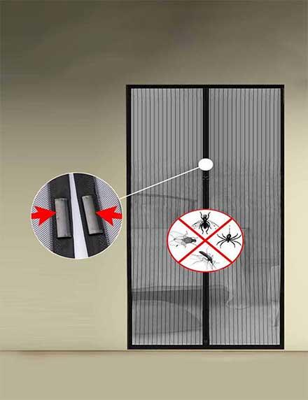 Combo of 2 Door Mosquito Nets