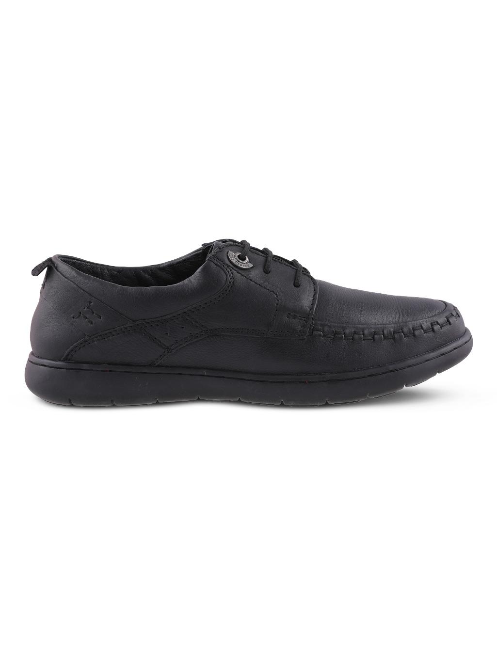 3601310f2 Lee Cooper Men s Black Semi Formal Shoes - Buy Online at Best Prices ...