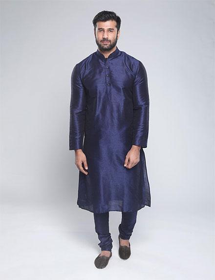 Sanwara Art Silk Kurta Pyjama