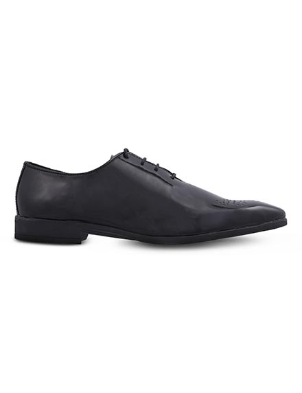 Ziraffe Black Designer Shoes