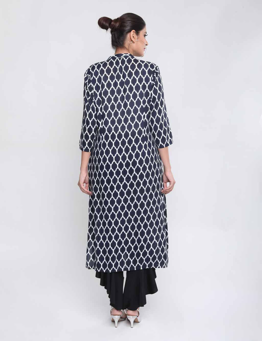 pack of 3 stylish cotton kurtas by aadiya buy online at best