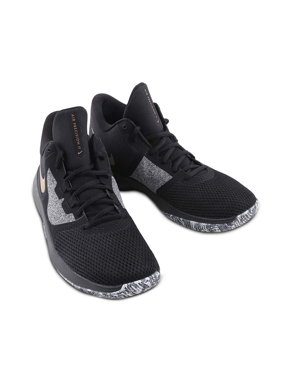 size 40 a986a 8b243 Nike Air Precision 2 Men s Black Sports Shoe - Buy Online at Best Prices    Ezmall.com