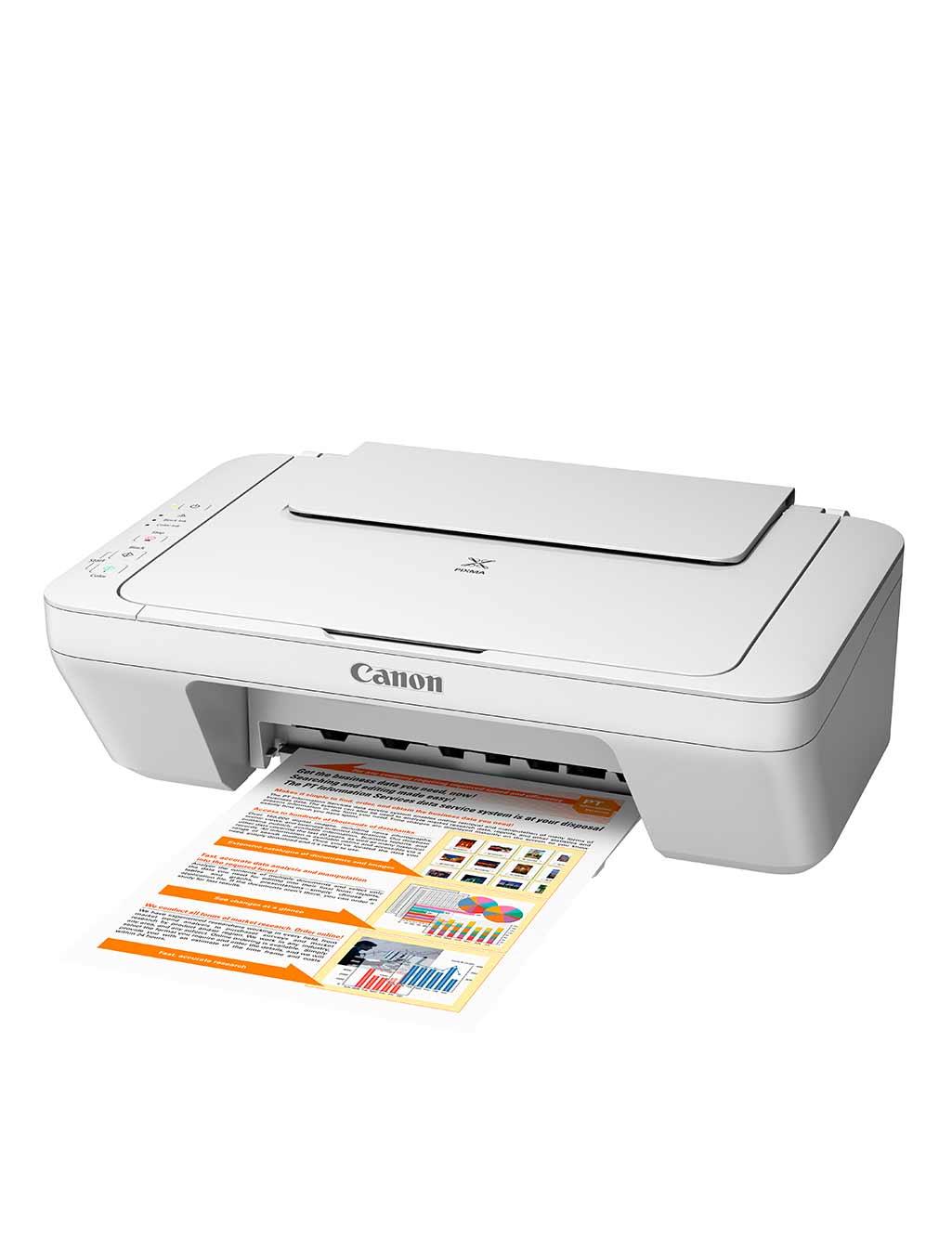 Canon 3 In 1 Color Printer Copier Scanner Buy Online At Best