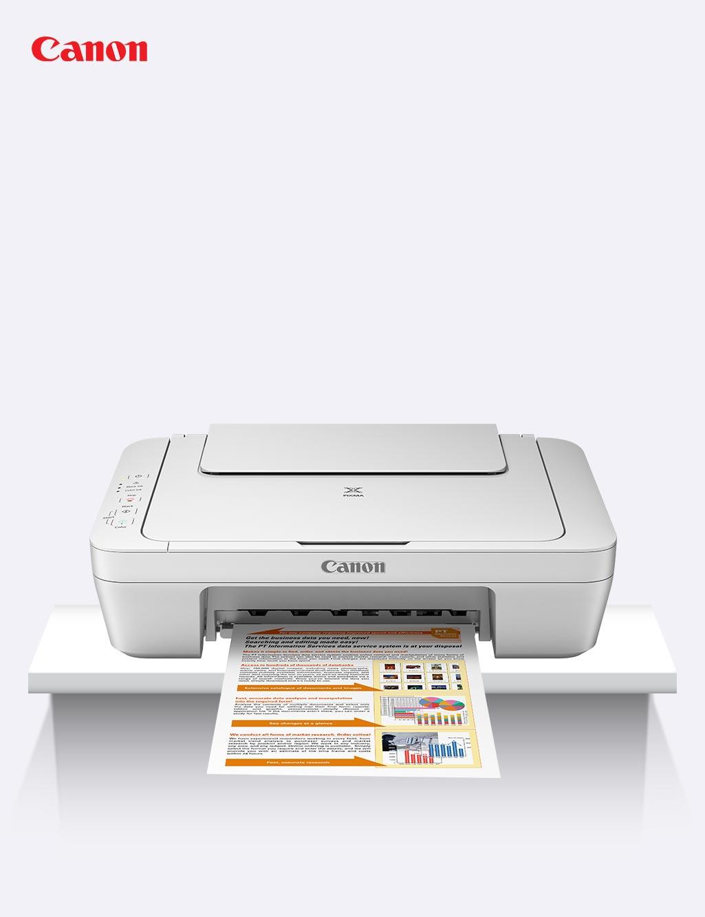 Canon 3 in 1 Color Printer, Copier & Scanner - Buy Online at Best