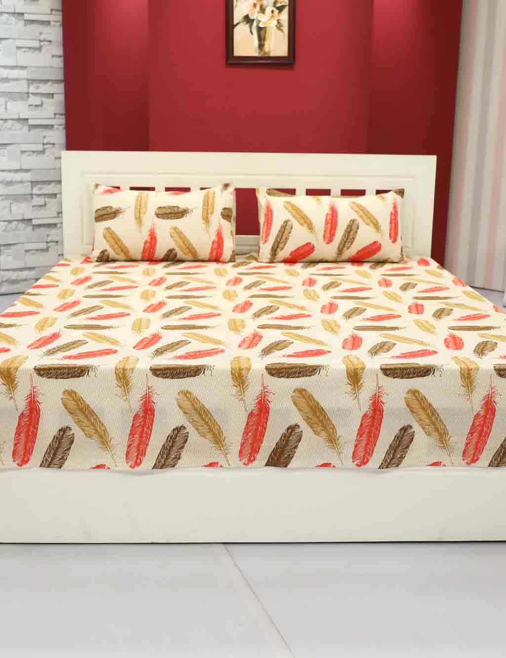 PrevNext. Vorhang 5 Cotton Double Bed Sheets ...