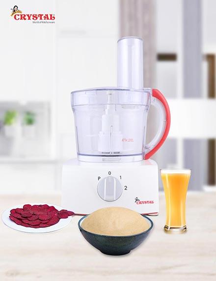 Crystal Atta Kneader + Mini Food Processor